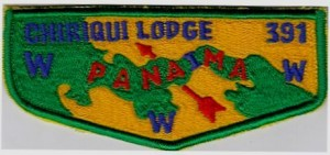 Fake OA Lodge 391 flap