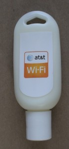 AT&T provided personal sunscreen bottles. VERY handy.